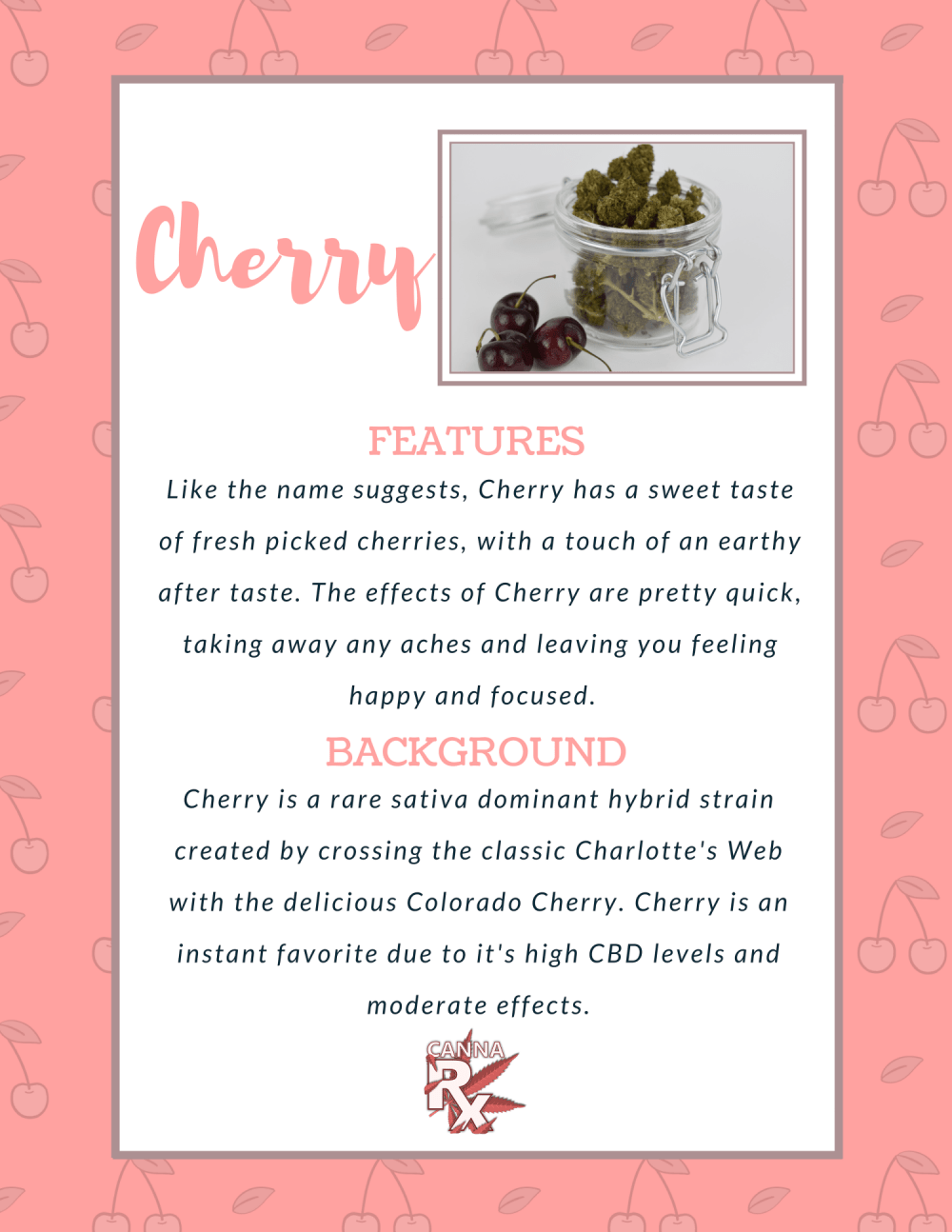 cherry features